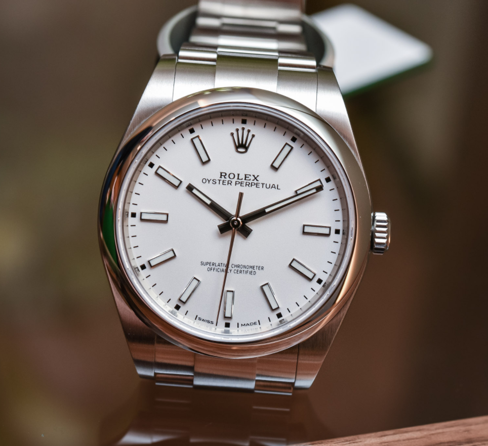 Đồng hồ Rolex Oyster Perpetual 39 Size 39mm