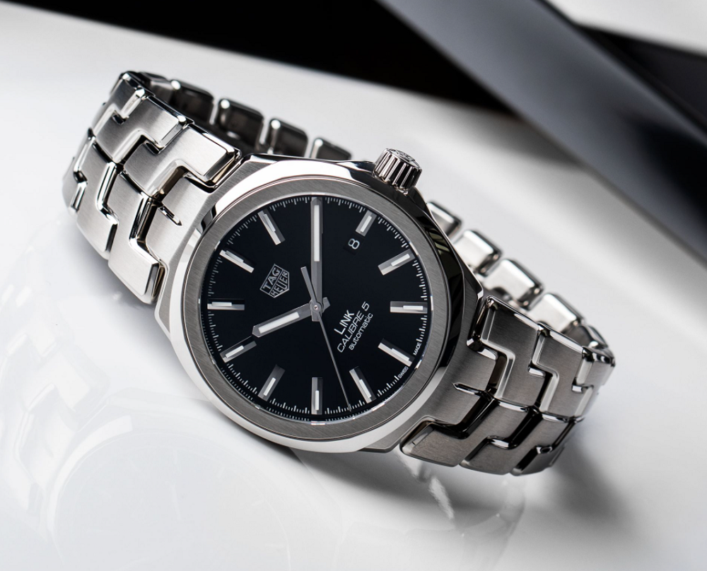 Đồng hồ TAG Heuer Link Calibre 5 Automatic WBC2110.BA0603
