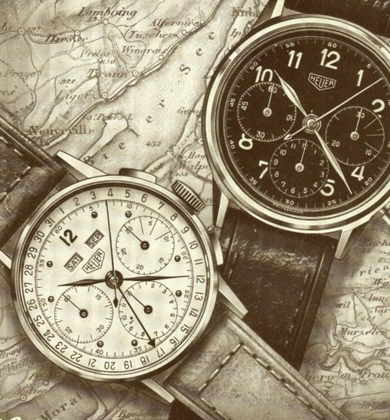 TAG-Heuer những năm 1950