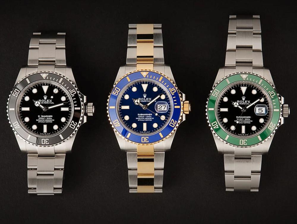 Làm thế nào để biết đồng hồ Rolex Submariner thuộc dòng nào?