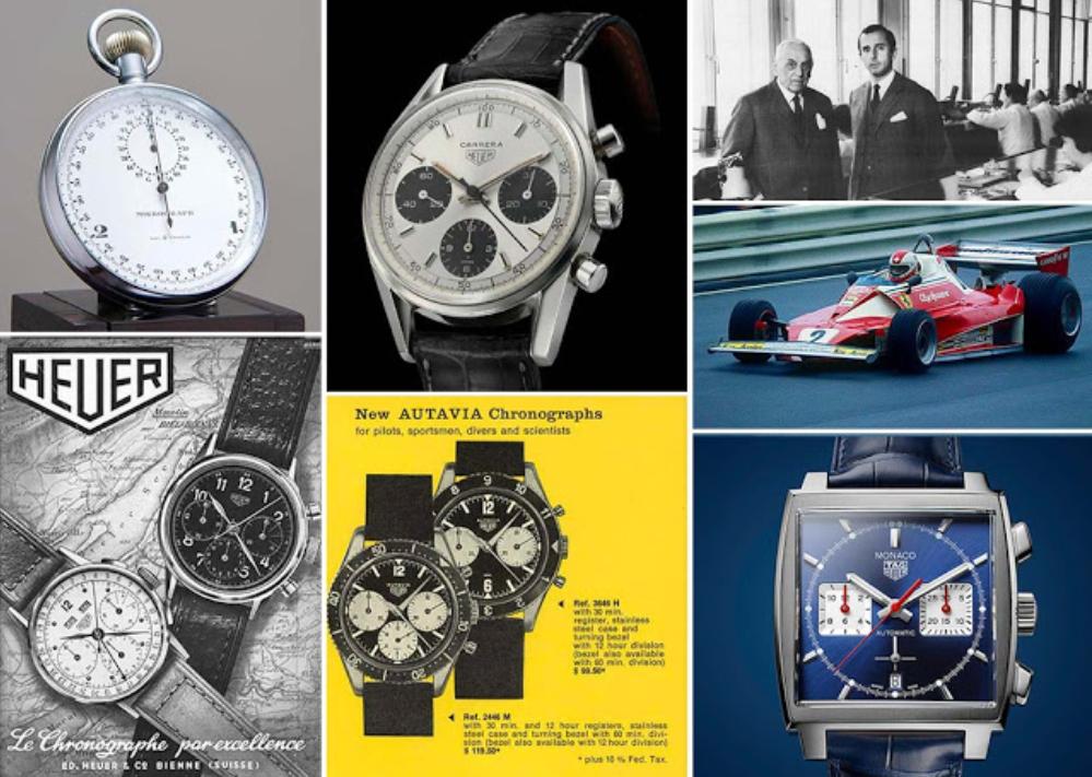 Lịch sử hình thành thương hiệu đồng hồ TAG Heuer