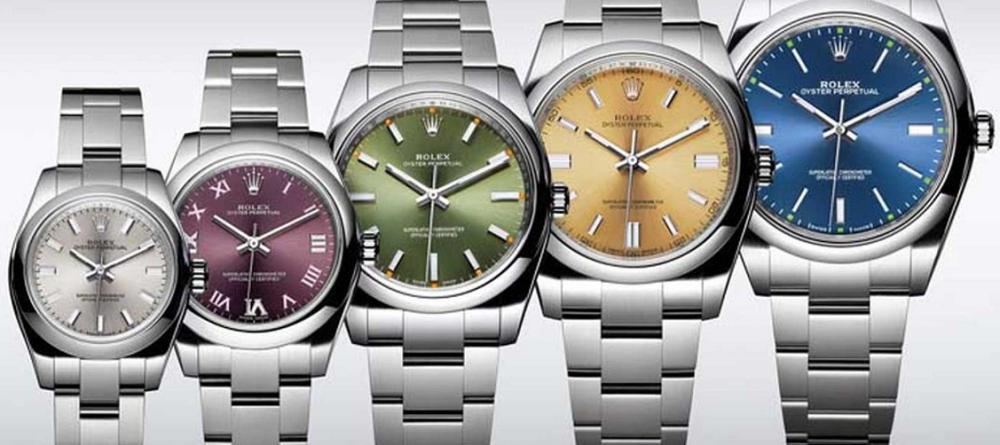 Tìm hiểu các size đồng hồ Rolex