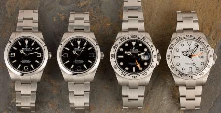 Sự khác biệt giữa Đồng hồ Rolex Explorer và Rolex Explorer II là gì?