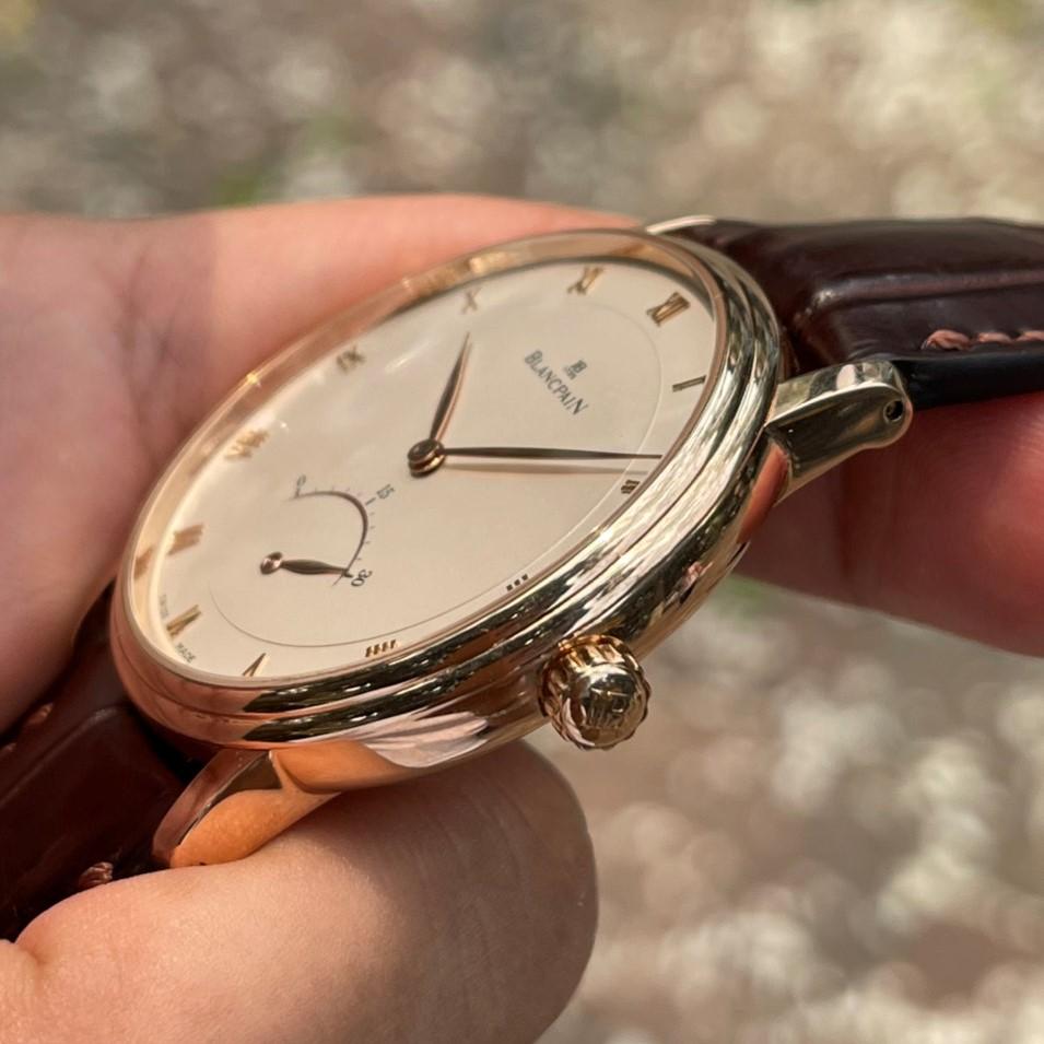 Blancpain Villeret Ultra Slim Retrograde Rose Gold 40mm