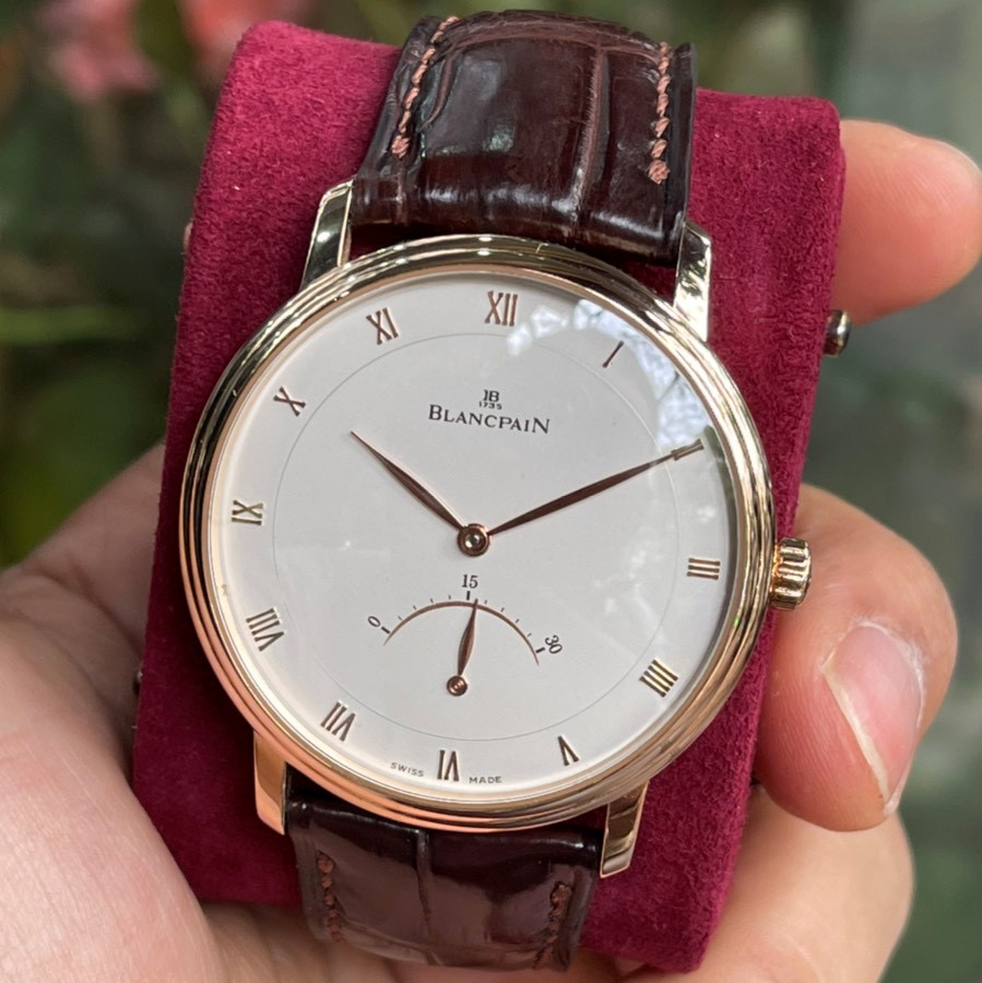 Blancpain Villeret Ultra Slim Retrograde Rose Gold 40mm