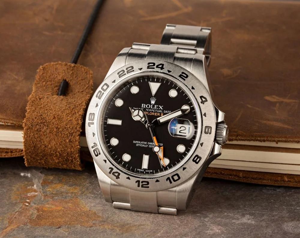 Cách sử dụng chức năng GMT trên đồng hồ Rolex Explorer II