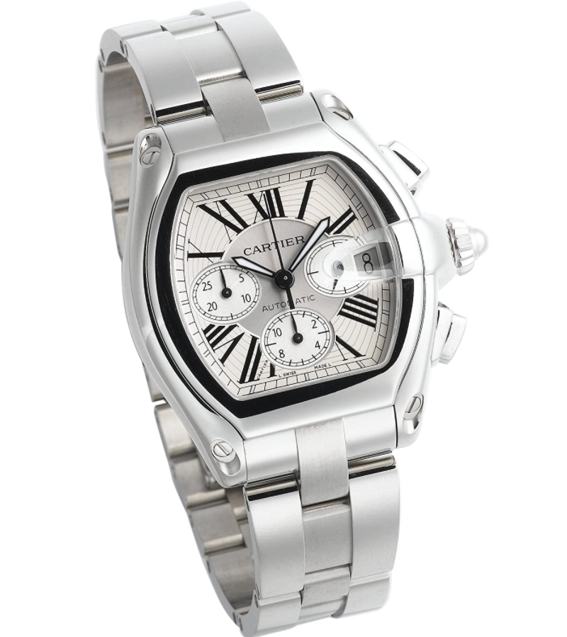 Đồng hồ Cartier Roadster Automatic Chronograph W62019X6