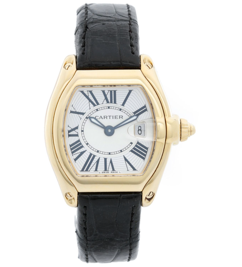 Đồng hồ Cartier Roadster Leather W62018Y5