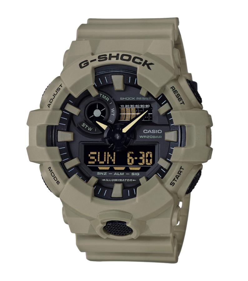 Đồng hồ Casio G-Shock XL Series Quartz GA-700UC-5ACR