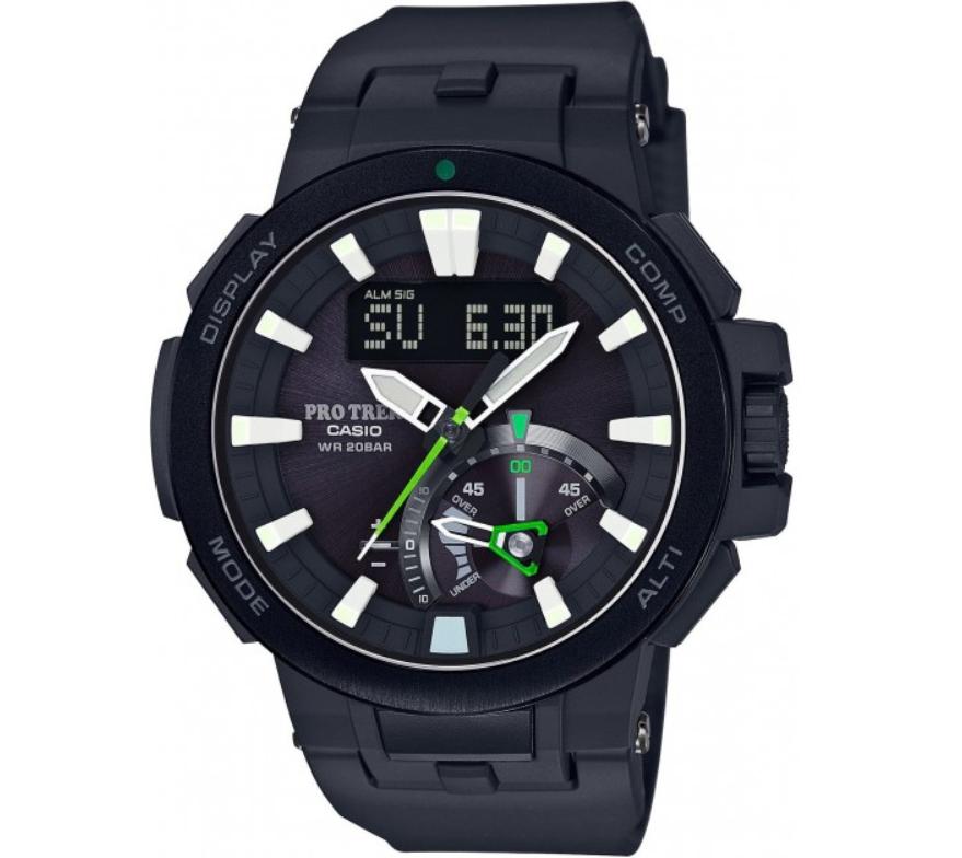 Đồng hồ nam Casio Pro Trek PRW-7000-1AJF