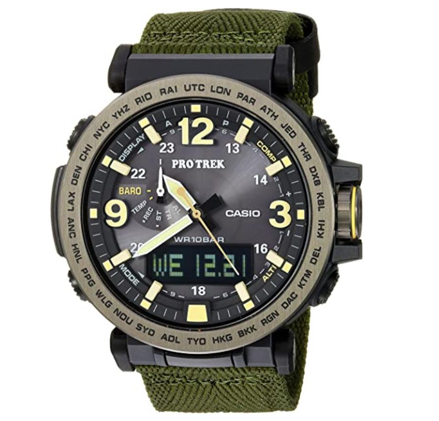Đồng hồ nam Casio Pro Trek Quartz PRG-600YB-3CR