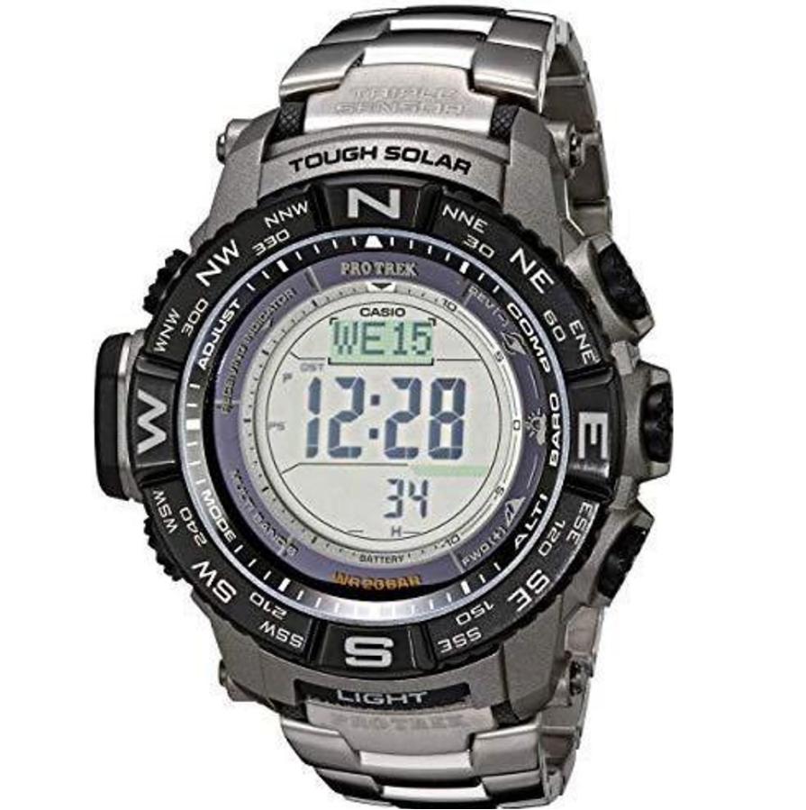Đồng hồ Casio Pro Trek Tough Solar Triple Sensor Digital Sports PRW-3500T-7CR