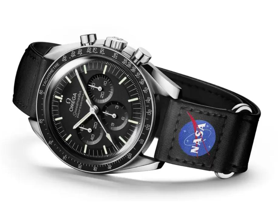 Đồng hồ Omega Speedmaster Velcro dây đeo NASA 032CWZ016042 mới năm 2021