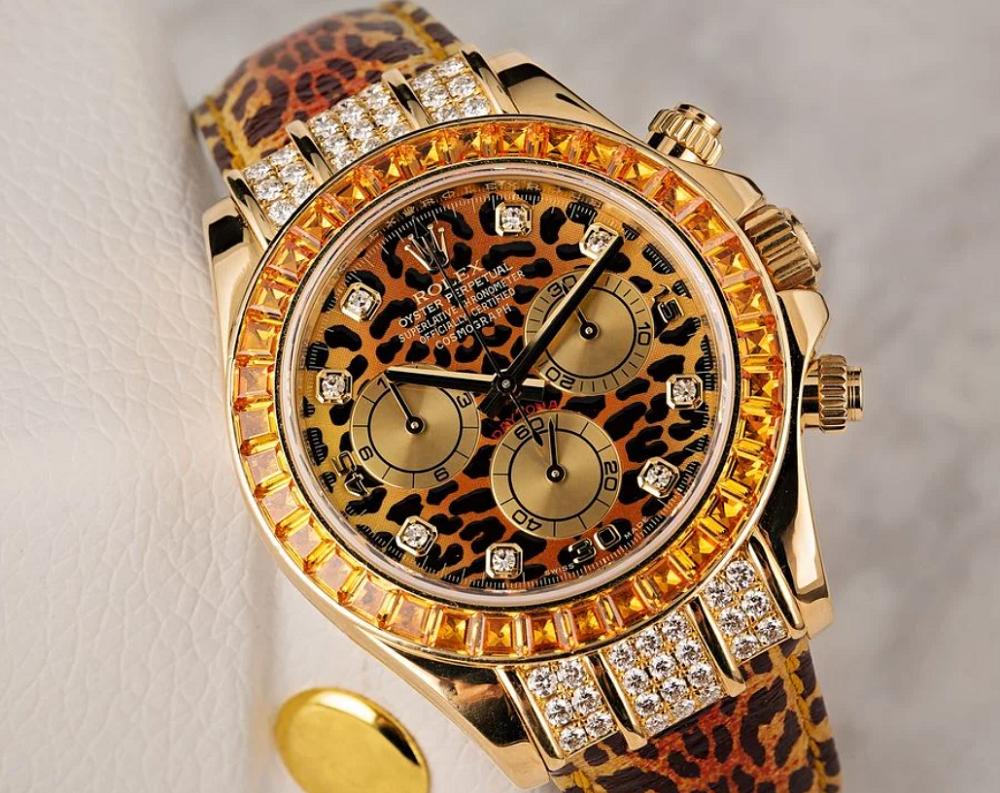 Số tham chiếu Rolex và Bezels đính đá quý