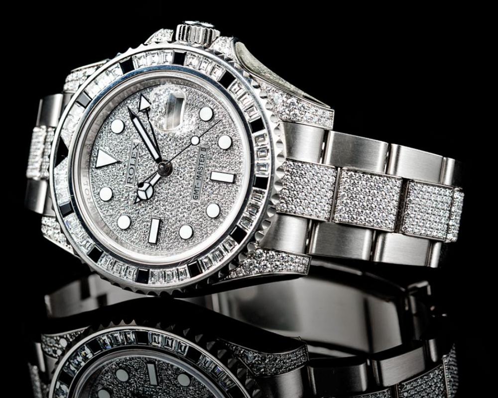 Bộ sưu tập đồng hồ Rolex nào có đính đá quý?