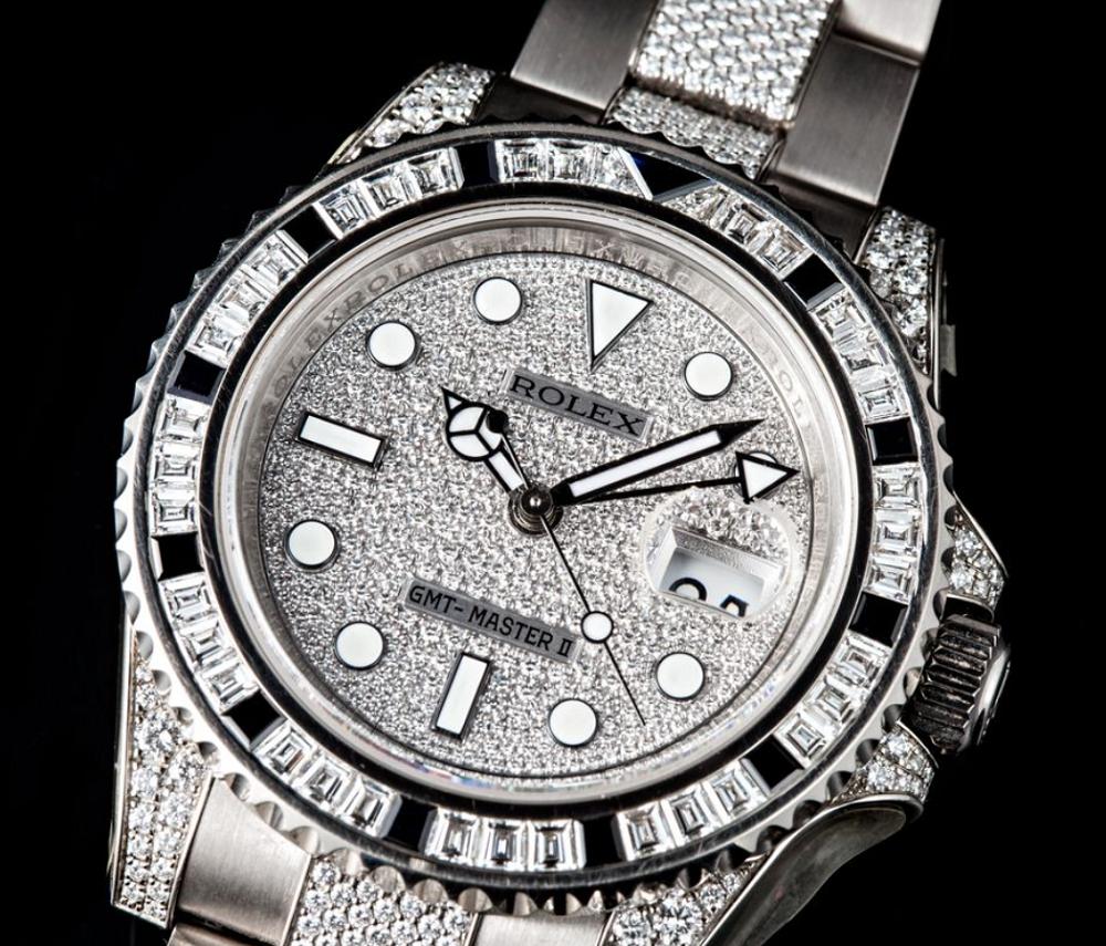 Mặt số Serti của Rolex