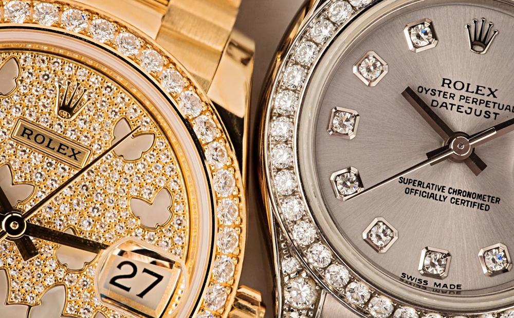 Cách Rolex thiết lập đá quý