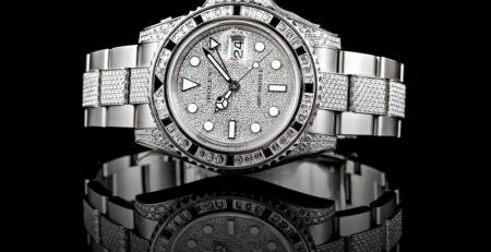 Tìm hiểu về đồng hồ Rolex đính kim cương hoặc đá quý