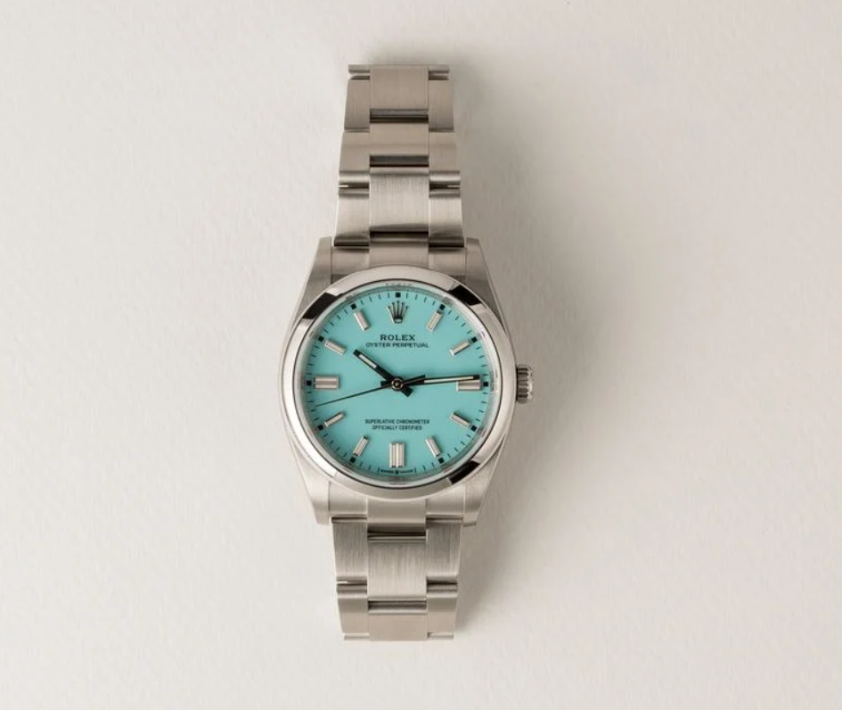 Đồng hồ Rolex nữ Ladies Oyster Perpetual Turquoise Dial