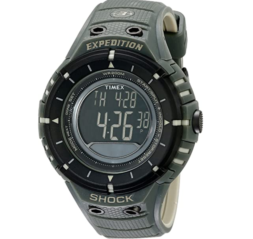 Đồng hồ nam Timex Expedition Shock Digital Compass T49612