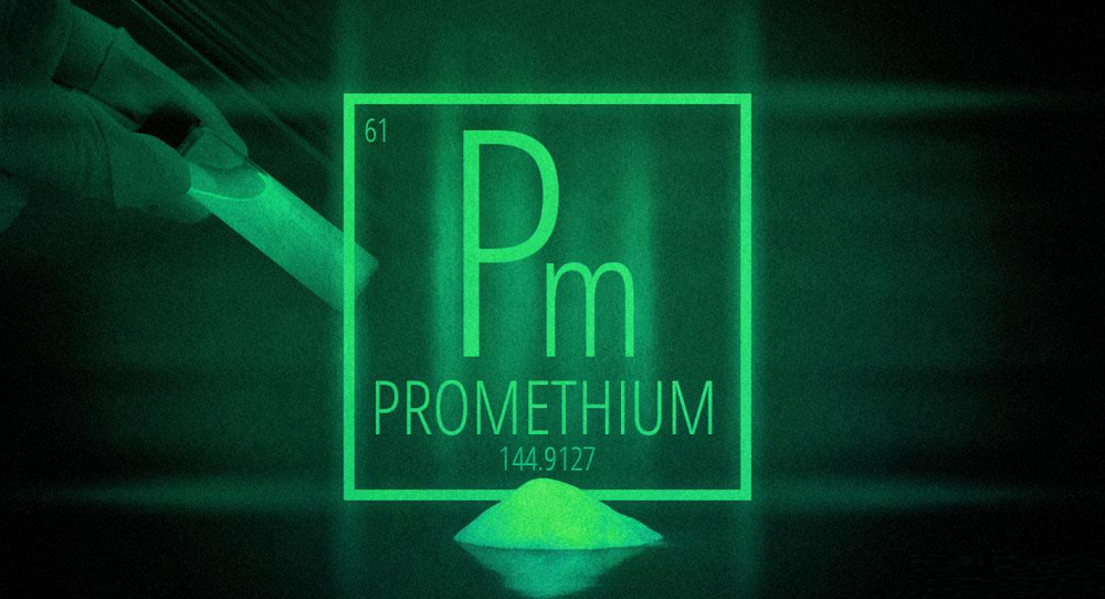 Vật liệu dạ quang Promethium (Pm-147)