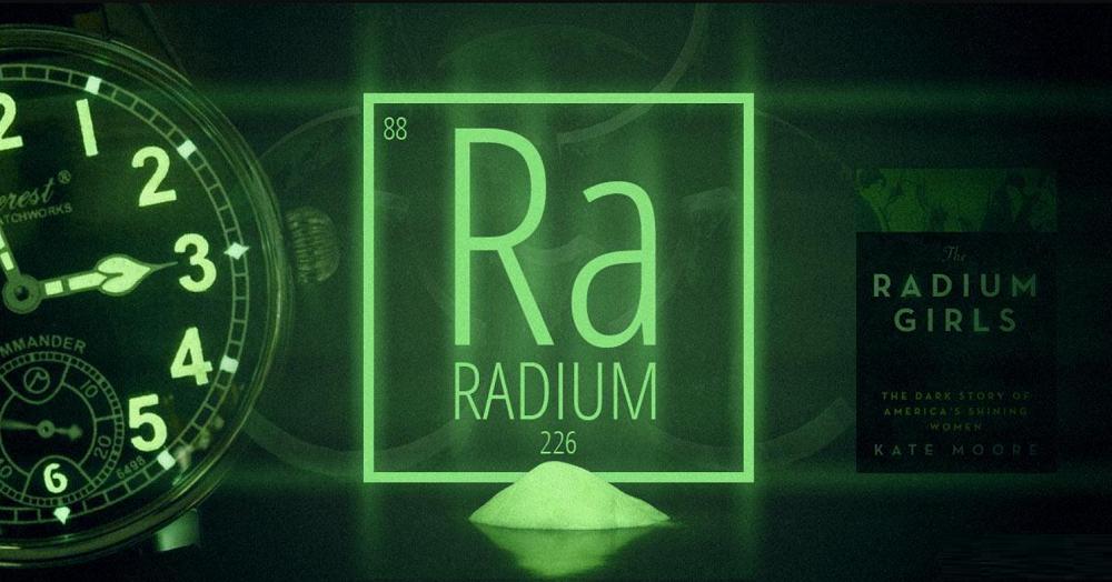 Năm 1908 - Vật liệu Radium được phát minh