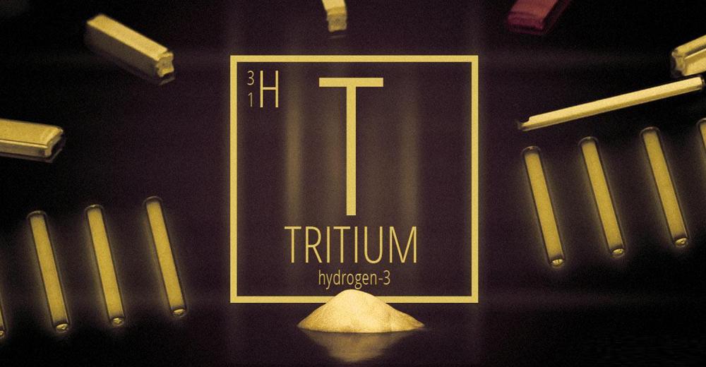 Vật liệu dạ quang Triti (H-3)
