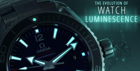 Sự phát triển của chất liệu dạ quang đồng hồ