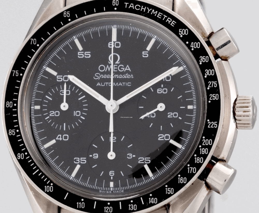 Bezel đồng hồ Omega Speedmaster Reduced 3510.50