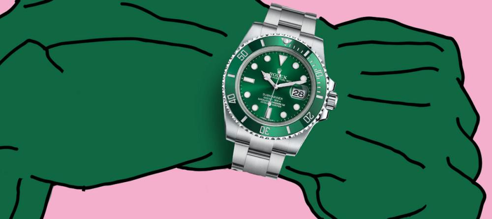 Biệt danh của đồng hồ lặn Rolex Submariner