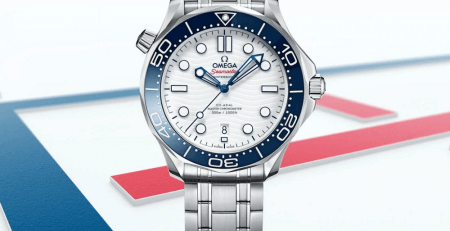 Đánh giá đồng hồ Omega Seamaster Diver 300M Tokyo 2020 Olympics Edition