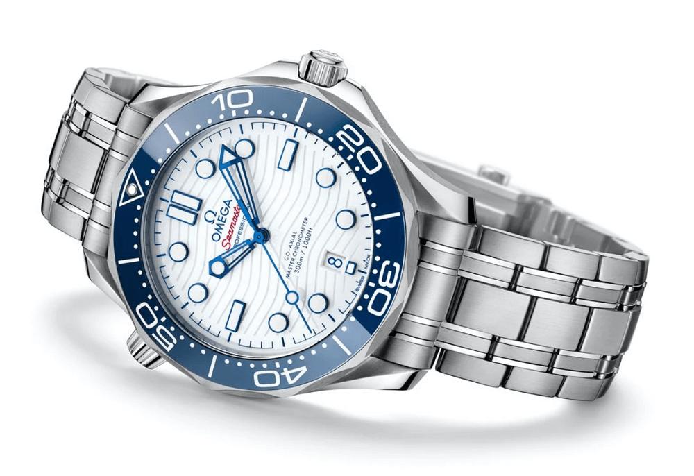 Đồng hồ Omega Seamaster Thế vận hội Tokyo 2020 lần thứ ba