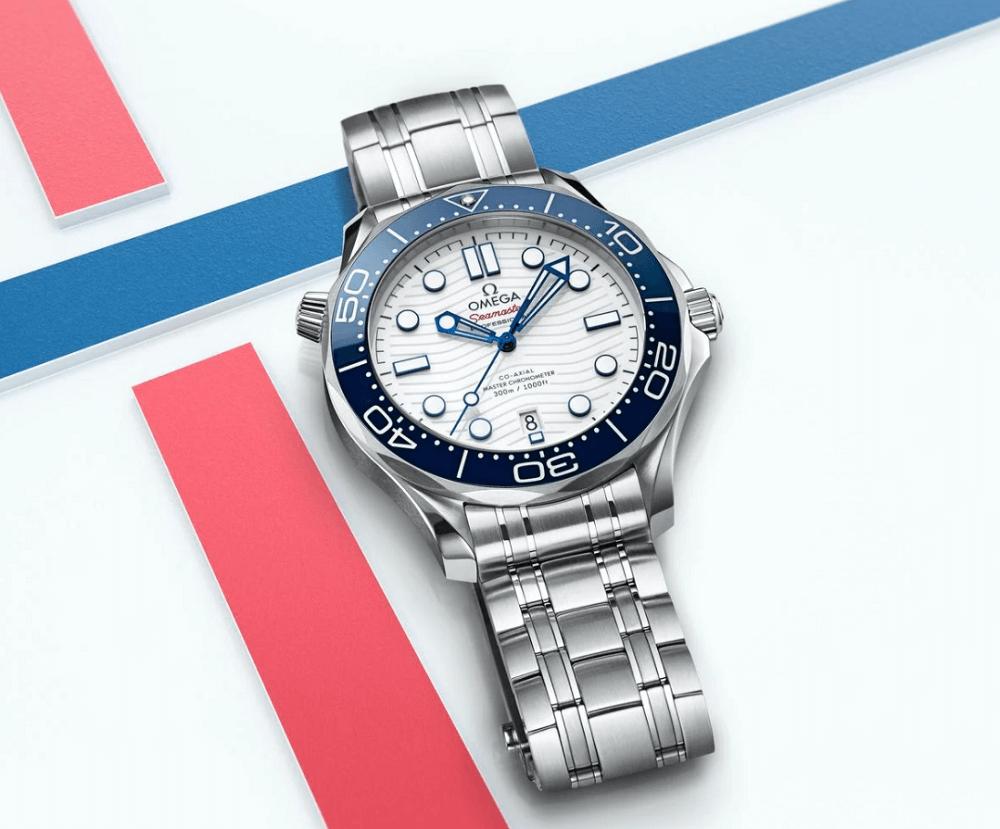 Đồng hồ Omega Seamaster Diver 300M Tokyo 2020 Olympics Edition