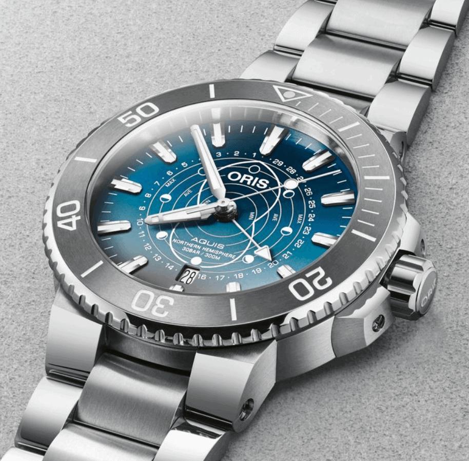 Đồng hồ Oris Aquis' Dat Watt' Limited Edition