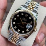 Dong-ho-Rolex-Datejust-116233-Mat-den-Coc-so-Diamond-Demi-vang-18k-2