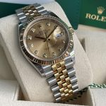 Dong-ho-Rolex-Datejust-126233-Champagne-Dial-Demi-vang-18k