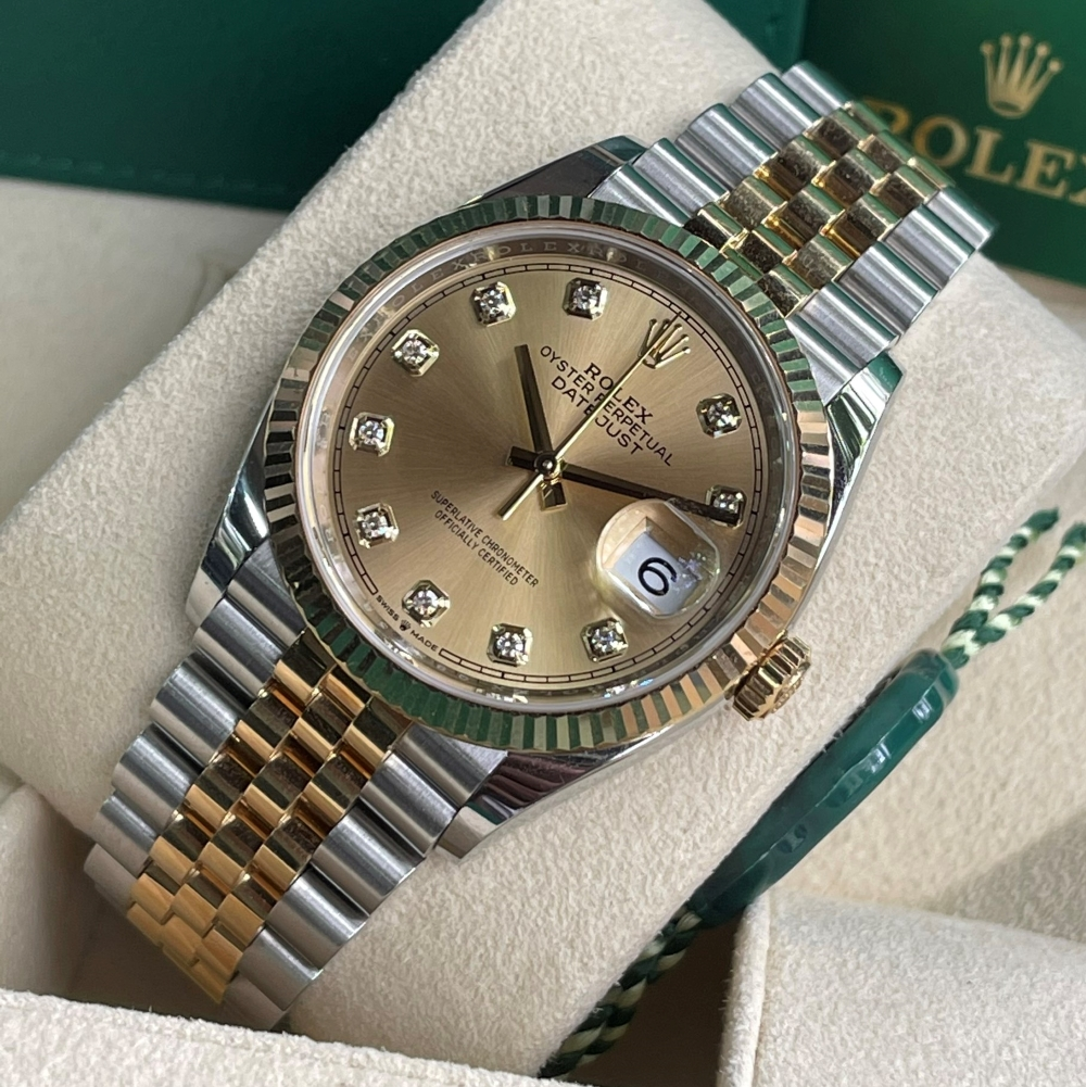 Dong-ho-Rolex-Datejust-126233-Champagne-Dial-Demi-vang-18k-2