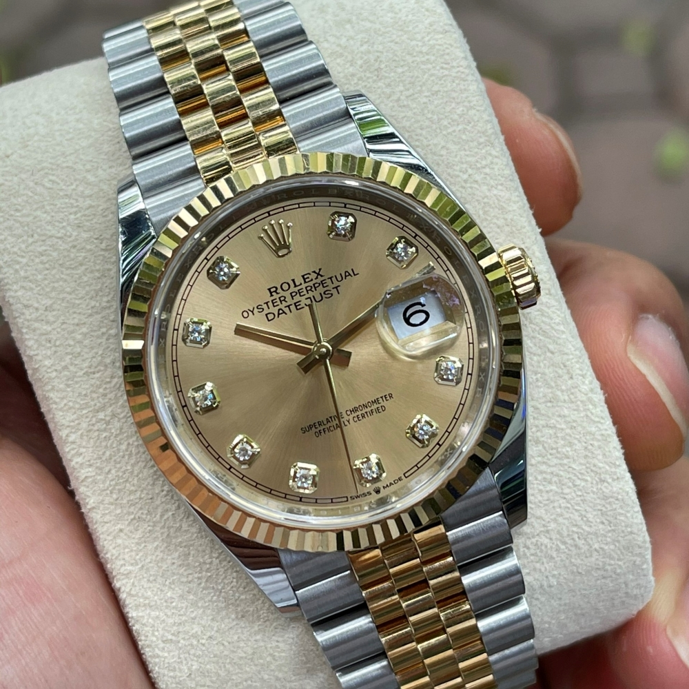Dong-ho-Rolex-Datejust-126233-Champagne-Dial-Demi-vang-18k-5
