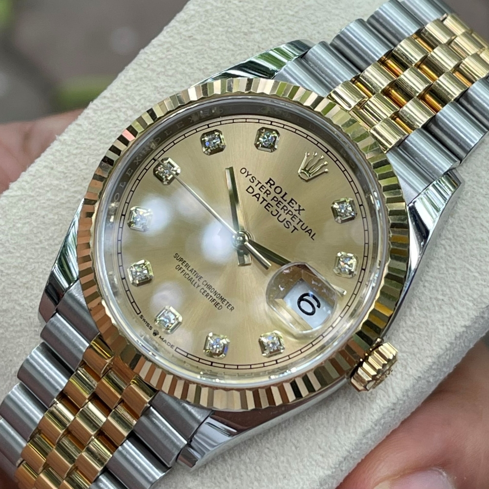 Dong-ho-Rolex-Datejust-126233-Champagne-Dial-Demi-vang-18k-6