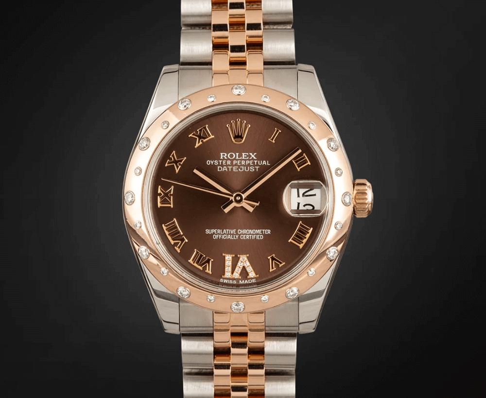 Đồng hồ Rolex Datejust 31 Ref. 178341 Everose Rolesor