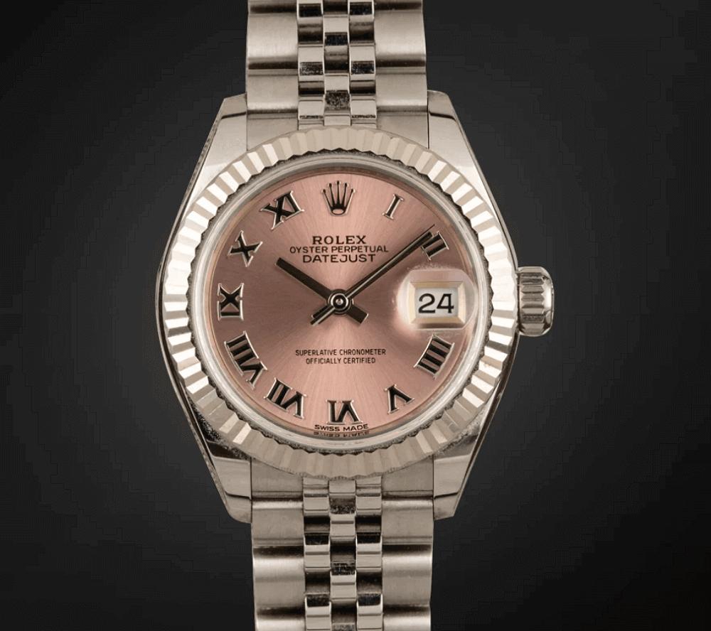 Đồng hồ Rolex Lady-Datejust 28 Ref. 279174 White Rolesor