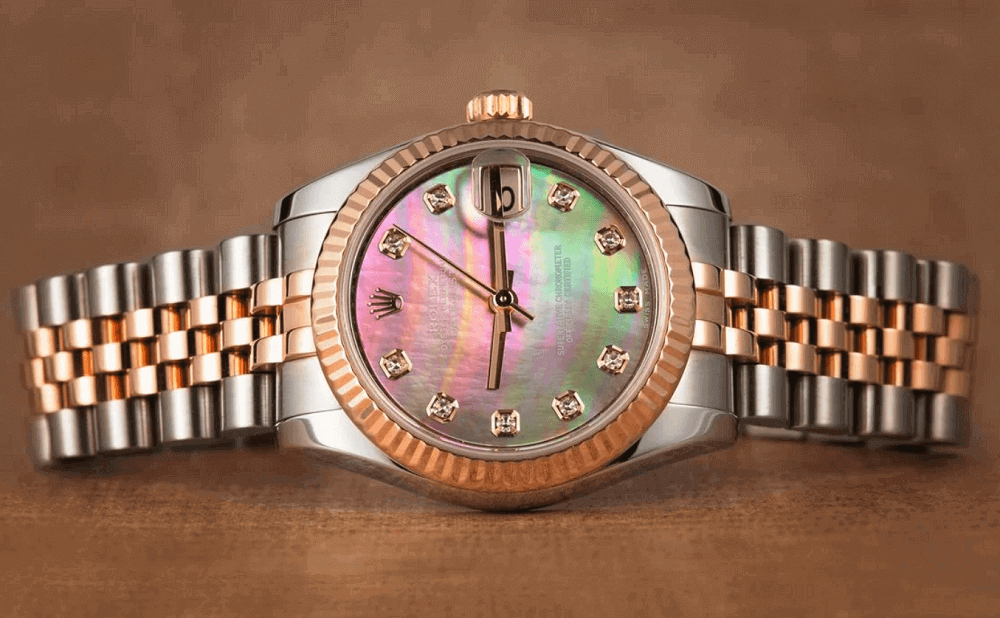 Đồng hồ Rolex Lady-Datejust Mother of Pearl Dial