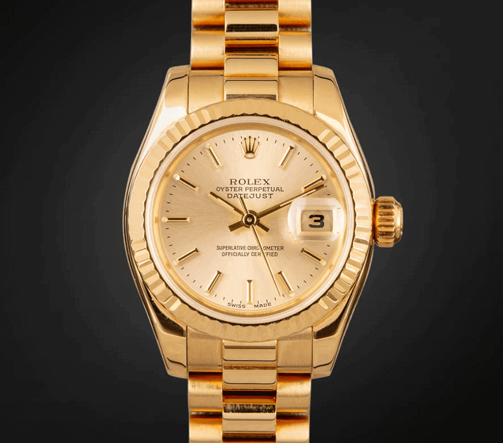 Đồng hồ Rolex Lady President 179178 Yellow Gold