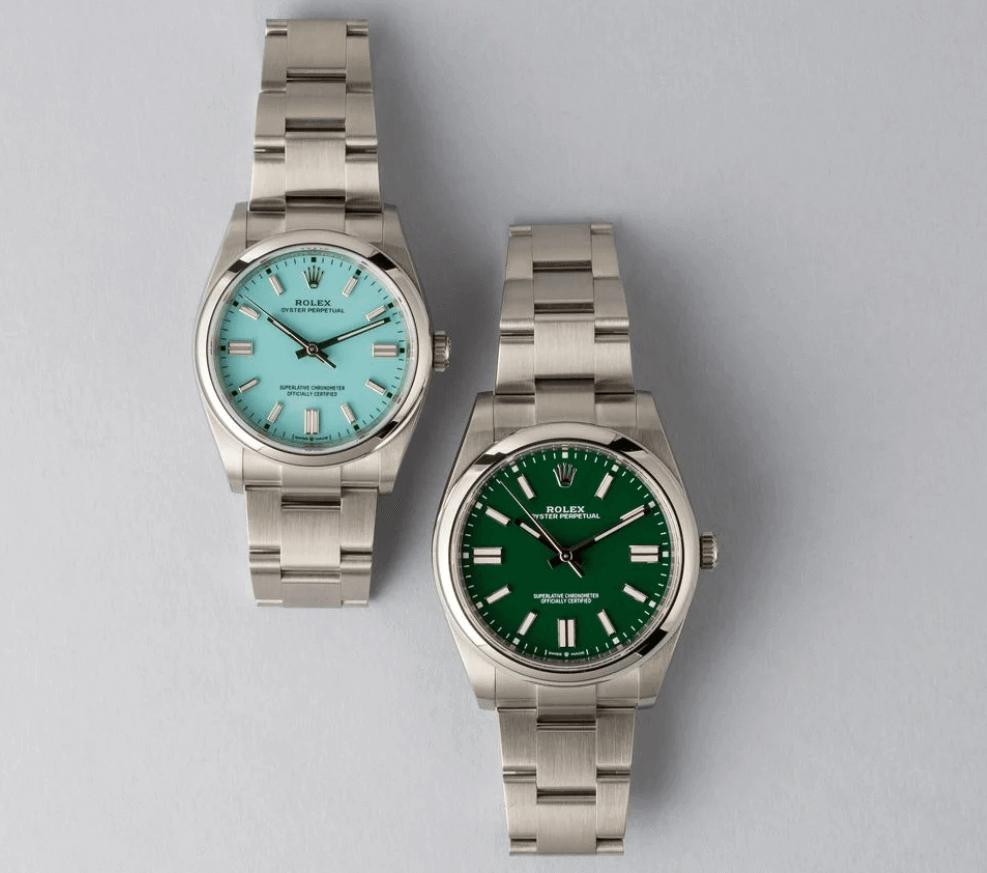 Làm sao để phát hiện một chiếc đồng hồ Rolex Oyster Perpetual là giả?