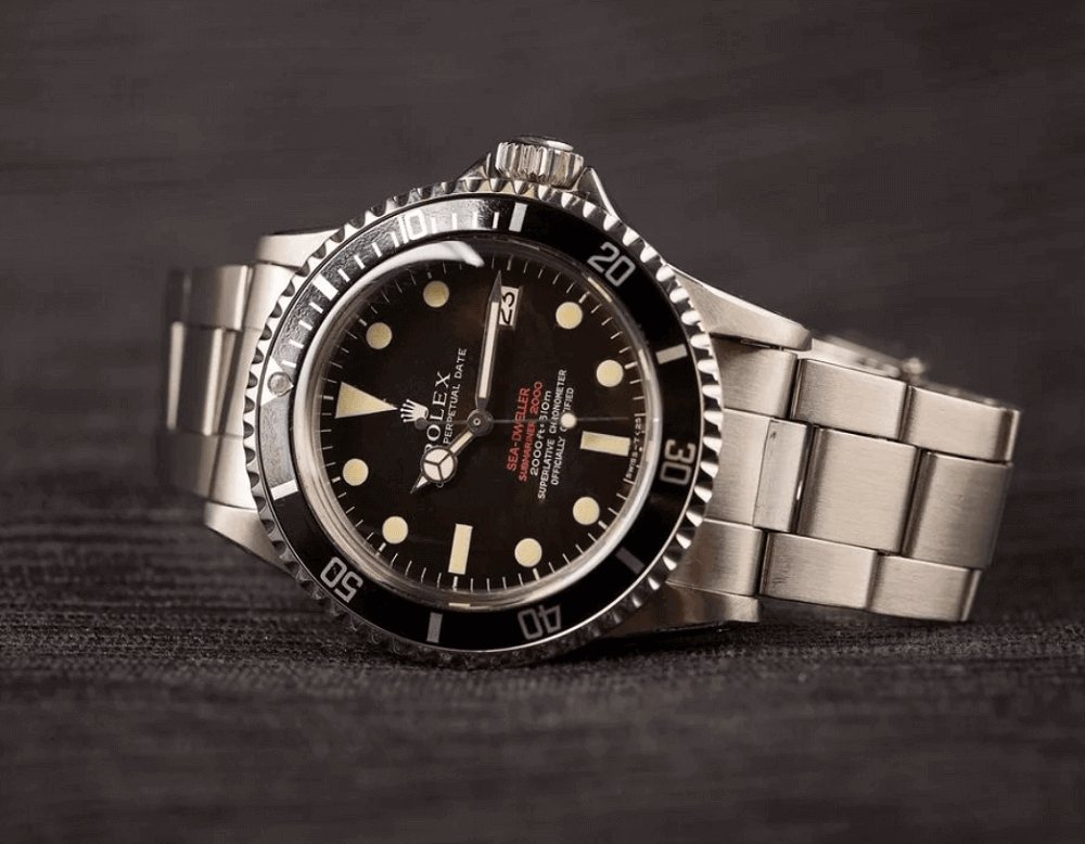 Đồng hồ Rolex Sea-Dweller 1665 - Double Red