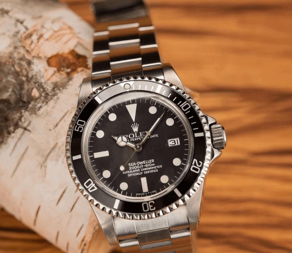 Đồng hồ Rolex Sea-Dweller 1665 - Great-White