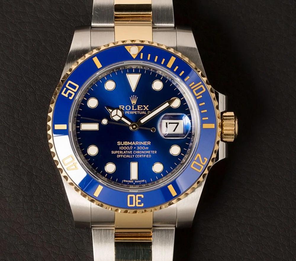 Đồng hồ Rolex Submariner 116613LB Biệt danh Bluesy