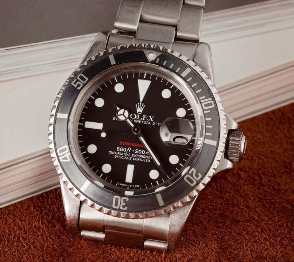 Đồng hồ Rolex Submariner 1680 Biệt danh Red Sub