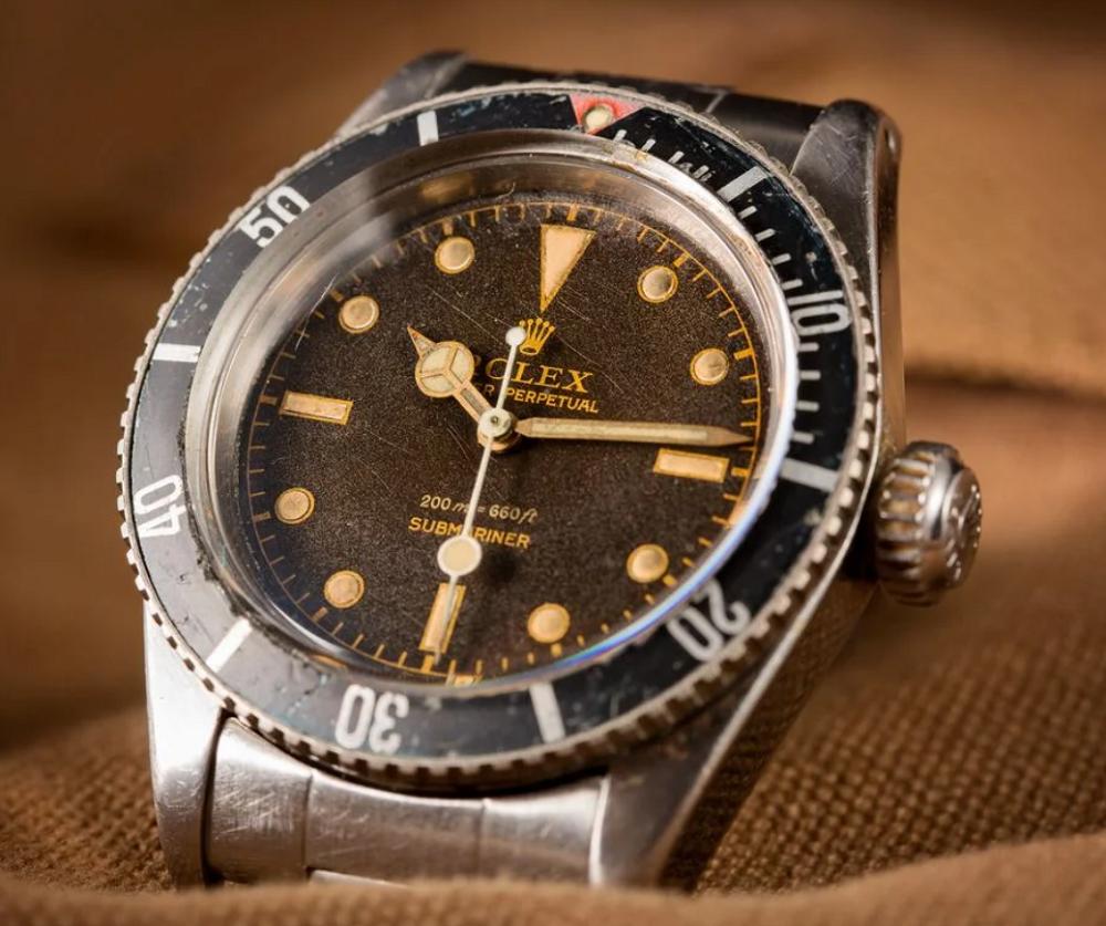 Đồng hồ Rolex Submariner 6538 Biệt danh James Bond