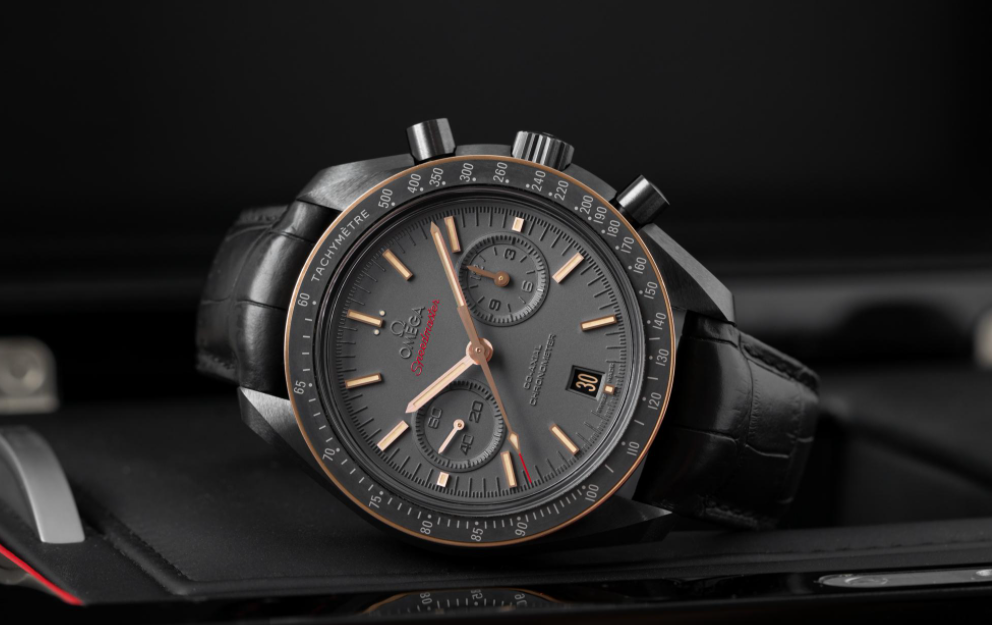 Đồng hồ gốm Omega Speedmaster Moonwatch Co-Axial Chronograph